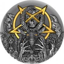 Strieborná minca Zlo 2 Oz 2020 Antique Standard