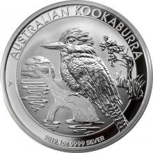 Stříbrná investiční mince Kookaburra Ledňáček 1 Oz 2019