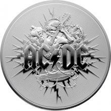 Stříbrná mince AC/DC 1 Oz 2021