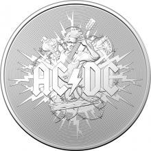 Strieborná minca AC/DC 1 Oz 2021