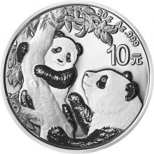 Stříbrná investiční mince Panda 30g 2021