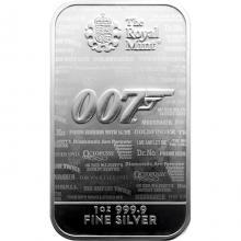 31,1g The Royal Mint - James Bond 007 Investiční stříbrný slitek