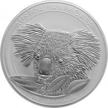 Strieborná investičná minca Koala 1Kg 2014