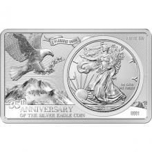 Stříbrná mince American Eagle 35. výročí Exkluzivní edice 2021 Proof