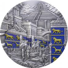 Stříbrná mince 2 Oz Ztracené civilizace - Babylon Ultra high relief 2021 Antique Standard