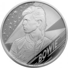 Stříbrná mince Hudební legendy - David Bowie 1/2 Oz 2020 Proof
