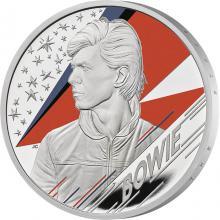 Stříbrná mince Hudební legendy - David Bowie 1 Oz 2020 Proof