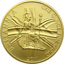 Zlatá investiční mince Britannia 1 Oz do roku 2012