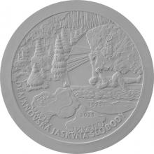 Stříbrná mince Objevení Demänovská jeskyně svobody - 100. výročí 2021 Standard