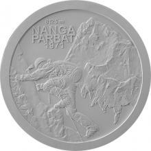 Stříbrná mince Zdolání první osmitisícovky slovenskými horolezci - 50. výročí 2021 Proof