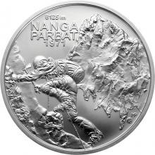 Stříbrná mince Zdolání první osmitisícovky slovenskými horolezci - 50. výročí 2021 Standard