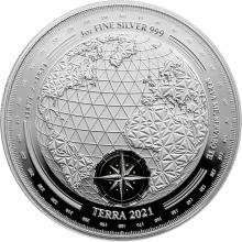 Stříbrná mince Terra Tokelau 1 Oz 2021