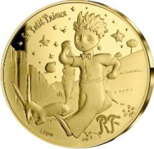 Zlatá mince Malý princ: Liška 1/4 Oz 2021 Proof