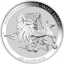 Stříbrná investiční mince Orel klínoocasý 1 Oz 2021