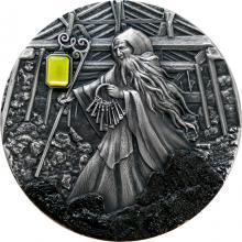 Stříbrná mince Skarbek - duch uhelných dolů 2 Oz High Relief 2021 Antique Standard