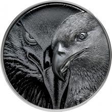 Strieborná minca Majestátny orol 2 Oz 2021 Proof