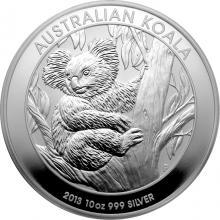 Stříbrná investiční mince Koala 10 Oz 2013