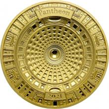 Zlatá mince Pantheon 2021 Proof