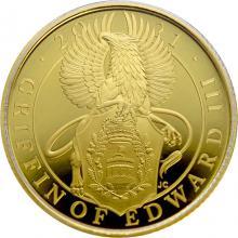 Zlatá mince Griffin of Edward III 1/4 Oz 2021 Proof