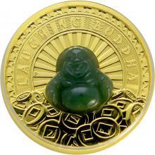 Zlatá mince Nefritový Buddha 1 Oz 2021 Proof