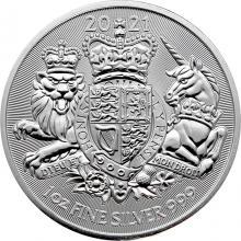 Stříbrná investiční mince Royal Arms 1 Oz 2021