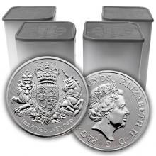 Stříbrná investiční mince Royal Arms 1 Oz 2021 (Odběr nad 100 Ks)