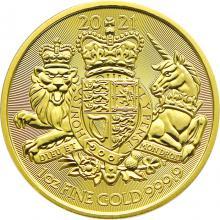 Zlatá investičná minca Royal Arms 1 Oz 2021