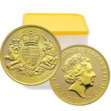 Zlatá investičná minca Royal Arms 1 Oz 2021 (Odber nad 10 Ks)