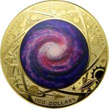 Zlatá mince Mléčná dráha 1 Oz 2021 Proof