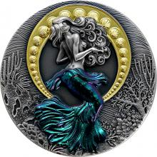 Stříbrná mince Siréna 2 Oz 2021 Antique Standard