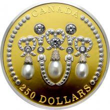 Zlatá minca 2 Oz Lover´s knot tiara 2021 Proof