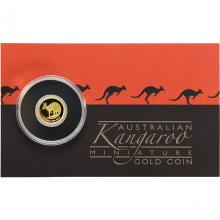 Zlatá investiční mince Kangaroo Klokan 0,5g Miniatura 2021