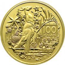 Zlatá investiční mince Australia´s Coat of Arms 1 Oz 2021