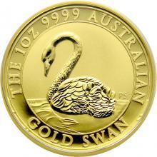 Zlatá investičná minca Australian Swan 1 Oz 2021