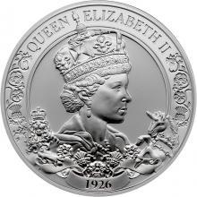 Stříbrná mince Královna Alžběta II. - 95. výročí narození 1 Oz 2021 Proof