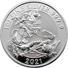 Stříbrná investiční mince Valiant 1 Oz 2021