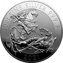 Strieborná investičná minca Valiant 10 Oz 2021
