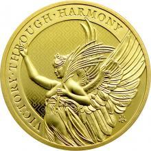Zlatá investiční mince The Queen´s Virtues - Victory 1 Oz 2021