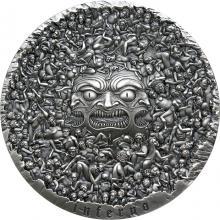 Stříbrná mince 1 kg Inferno - Dante Alighieri - Božská komedie 2021 Antique Standard