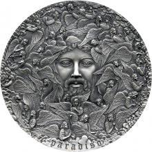 Stříbrná mince 5 Oz Paradiso - Dante Alighieri - Božská komedie 2021 Antique Standard
