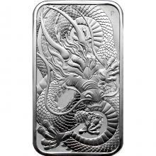 Stříbrná investiční mince Rectangular Dragon 1 Oz 2021