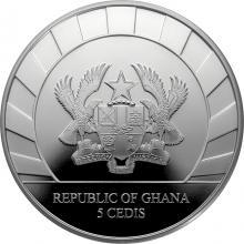 Stříbrná investiční mince Obři doby ledové - Nosorožec srstnatý 1 Oz 2021