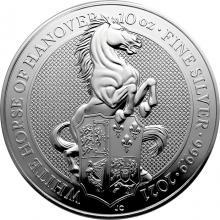 Stříbrná investiční mince The Queen´s Beasts The White Horse 10 Oz 2021