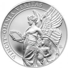 Strieborná minca Cnosti kráľovnej - Pravda 1 Oz 2021 Proof