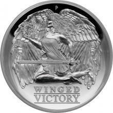 Strieborná minca Winged Victory 1 Oz High Relief 2021 Proof