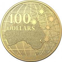 Zlatá investiční mince Beneath the Southern Skies 1 Oz 2021