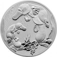 Stříbrná investiční mince Next Generation - Ptakopysk 2 Oz 2021 Piedfort