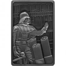 Sběratelská pokovená medaile Star Wars - Darth Vader Antique Standard
