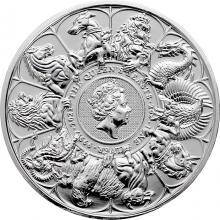 Strieborná investičná minca The Queen's Beasts 2 Oz 2021