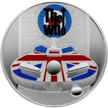 Stříbrná mince Hudební legendy - The Who 1 Oz 2021 Proof